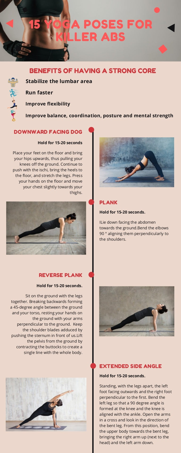 50 Yoga Poses for Killer Abs