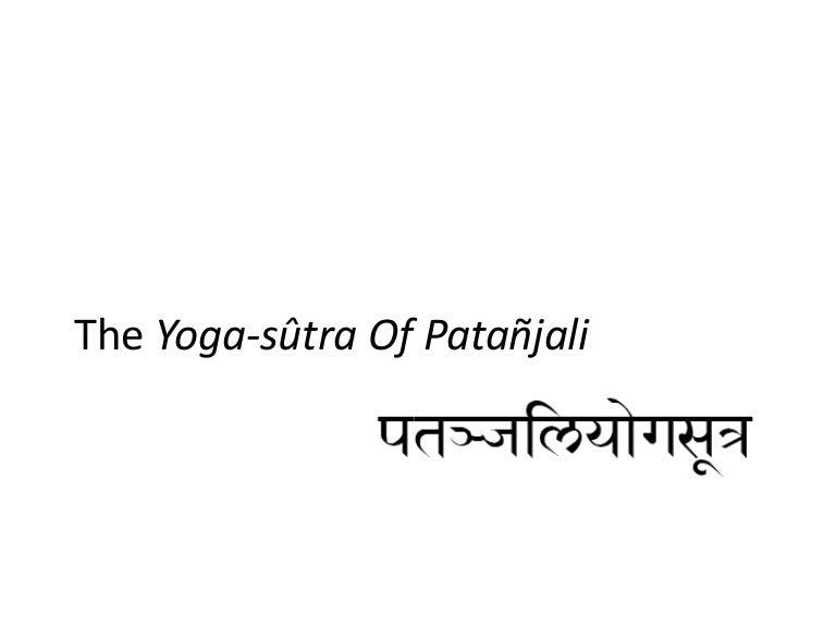 Yoga Sutra 8 Limbs