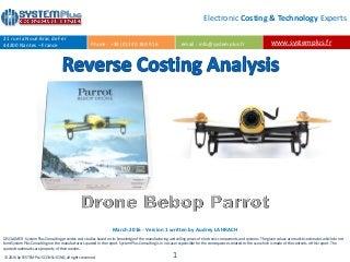 Drone parrot bebop 2 blanc