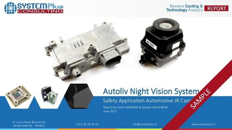 Autoliv S 3rd Generation Automotive Night Vision Camera