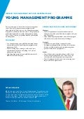 Brochure Young management programme