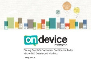 Young People's Consumer Confidence Index