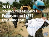 OHRM: Young Professional Programme (YPP) Examination Presentation (Eng)