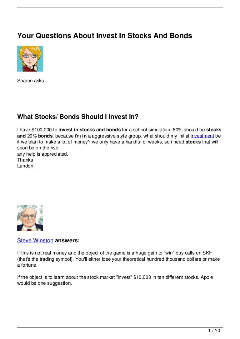 Your questions about invest in stocks and bonds 120720140829 phpapp02 thumbnail 4gcb1342794267 biocorpaavc Image collections