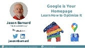 Local SEO - Your Brand SERP is your Homepage  - Here's how you can take control