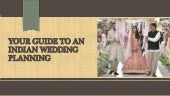 Your guide to an indian wedding planning