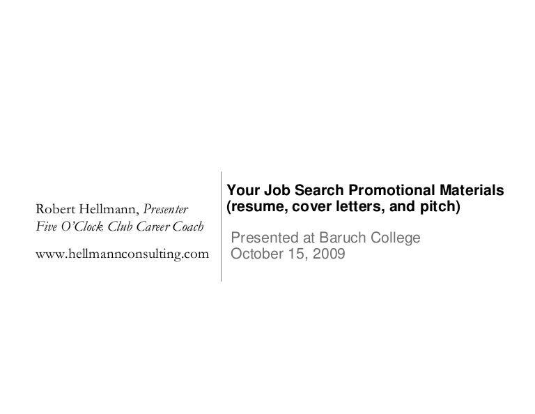 pitch resume