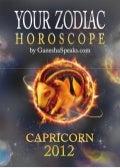Your zodiac horoscope by ganehsa speaks.com capricorn 2012