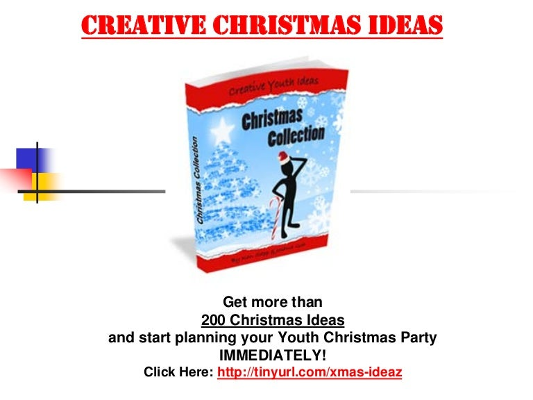 youth group christmas party games ideas - Christmas Youth Group Games