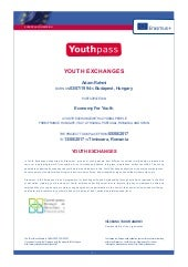 Youthpass certifikat yadclub Image collections