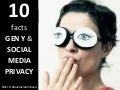 10 Facts about Gen Y and Social Media Privacy (Total Youth Research)