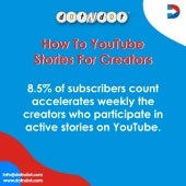 How to #YouTube #Stories for #Creators