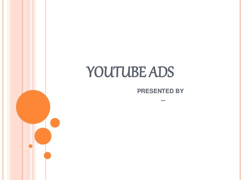youtube ads introduction, Powerpoint templates