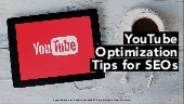 YouTube Optimization Tips for SEOs at #SEMrushconf2019