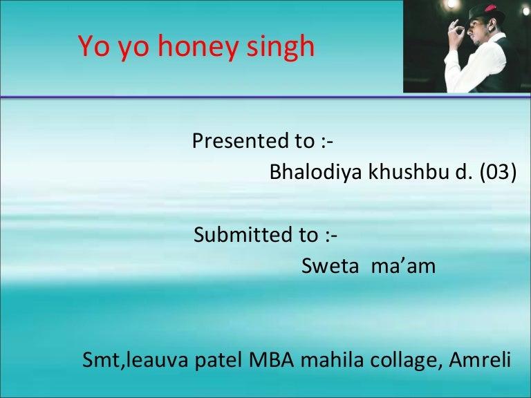 Yo Yo Honey Singh 1 Hope u all enjoy the songs and have fun. yo yo honey singh 1
