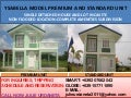 YSABELLA MODEL SINGLE DETACHED/ PREMIUM AND STANDARD UNIT/ NON FLOODED/ GOOD LOCATION