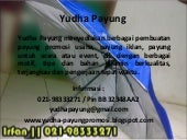 Payung promosi jakarta, payung golf, hotel, produk, kampus, dll  telp. 021 98333271