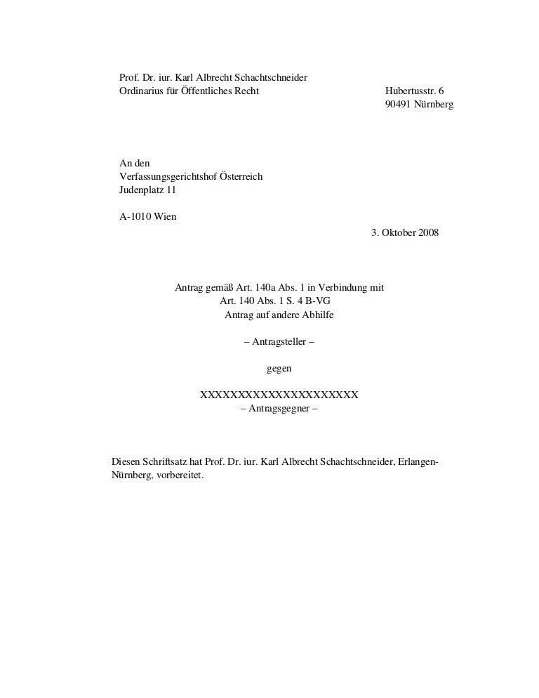 Neu Oesterr Klage Lissabon Vertrag