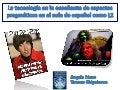 Incorporación de la tecnología en la enseñanza de aspectos pragmáticos en el aula de español como segunda lengua.