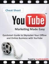 Ebook Checklist - Danh Sách Những Bước Cần Làm Youtube Marketing