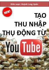 Ebook Tạo Thu Nhập Thụ Động Từ Youtube