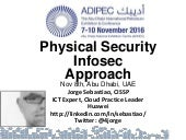 ADIPEC physical and Infosec for Oil and Gas