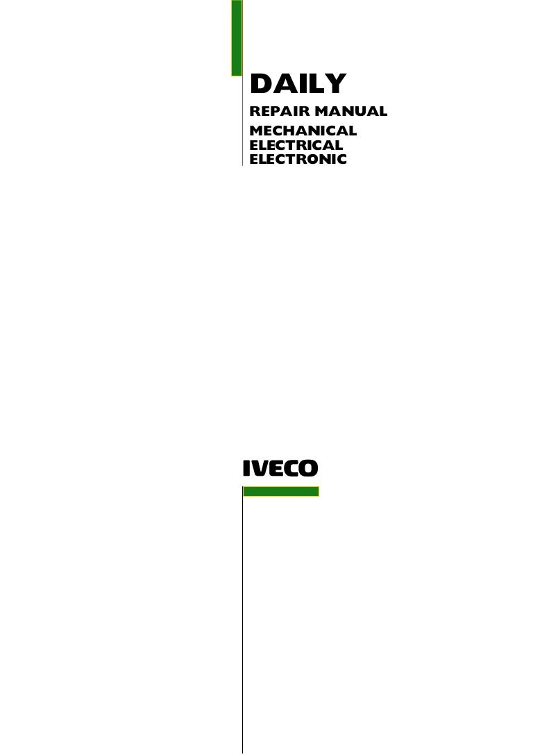 2006 Iveco Daily 3 Service Repair Manual Yale Forklift Four Way Switch Wiring Diagram