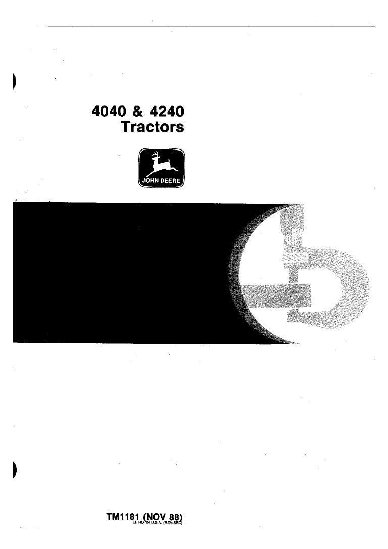 9630BB4 John Deere 4040 Wiring Diagram | Wiring LibraryWiring Library