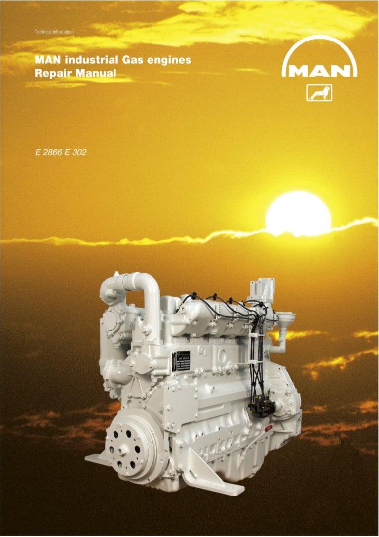 Man Industrial Gas Engine E 2866 302 Service Repair Manual Diagram 20 Piston