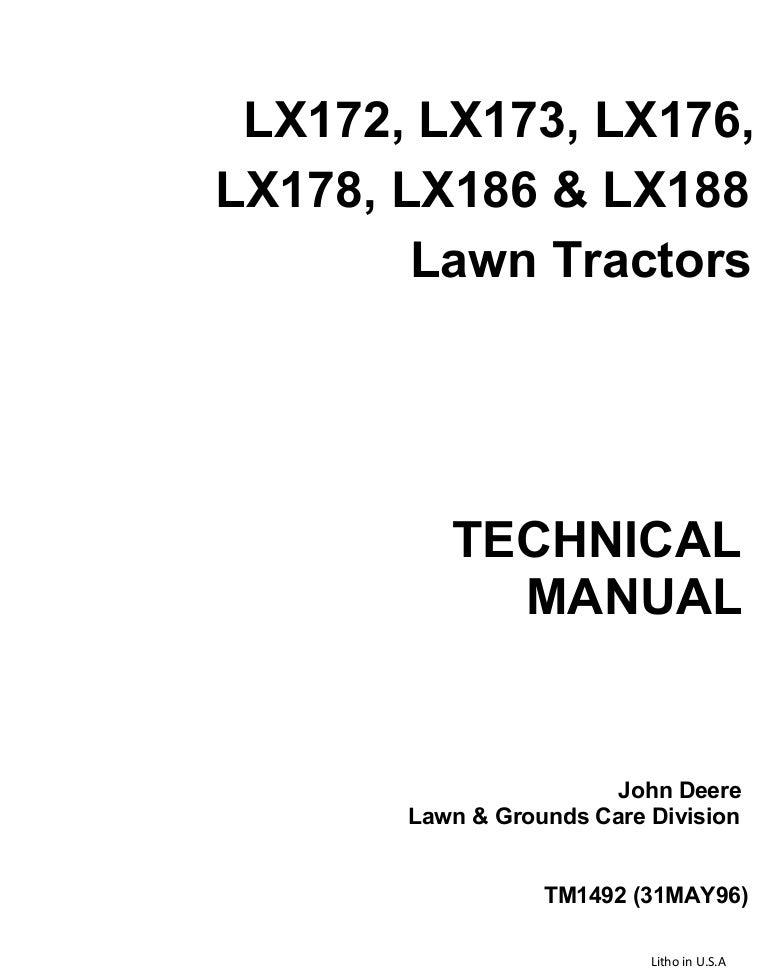 z20 170814011239 thumbnail 4?cb=1502673211 john deere lx176 lawn garden tractor service repair manual