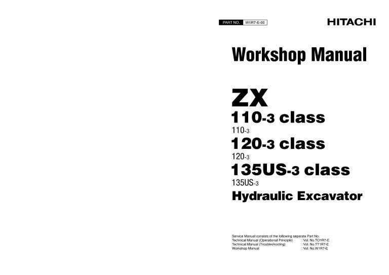 HITACHI ZAXIS ZX 110-3 EXCAVATOR Service Repair Manual on bathroom diagram, 110 plug diagram, yamoto 110 atv wire diagram, bay window diagram,
