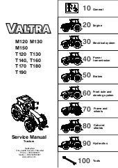 Other Tractor Publications Tractor Manuals & Publications Valtra M120 M130 M150 T120 T130 T140 T160 T170 T180 T190 Workshop Service Manual