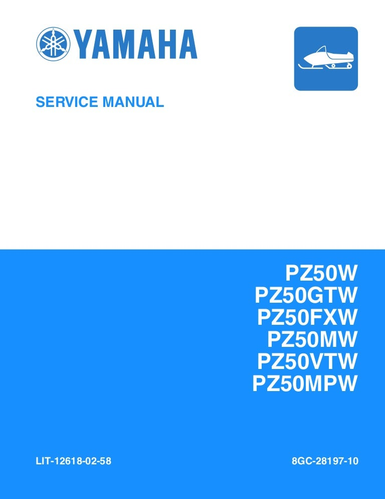 2007 Yamaha Phazer PZ50W Snowmobile Service Repair Manual | 2007 Yamaha Phazer Wiring Diagrams |  | SlideShare