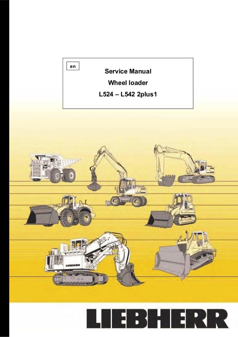 Liebherr L524 659 Wheel Loader Service Repair Manual Snfrom 17890 John Deere 330c Lc Fuse Box Diagram