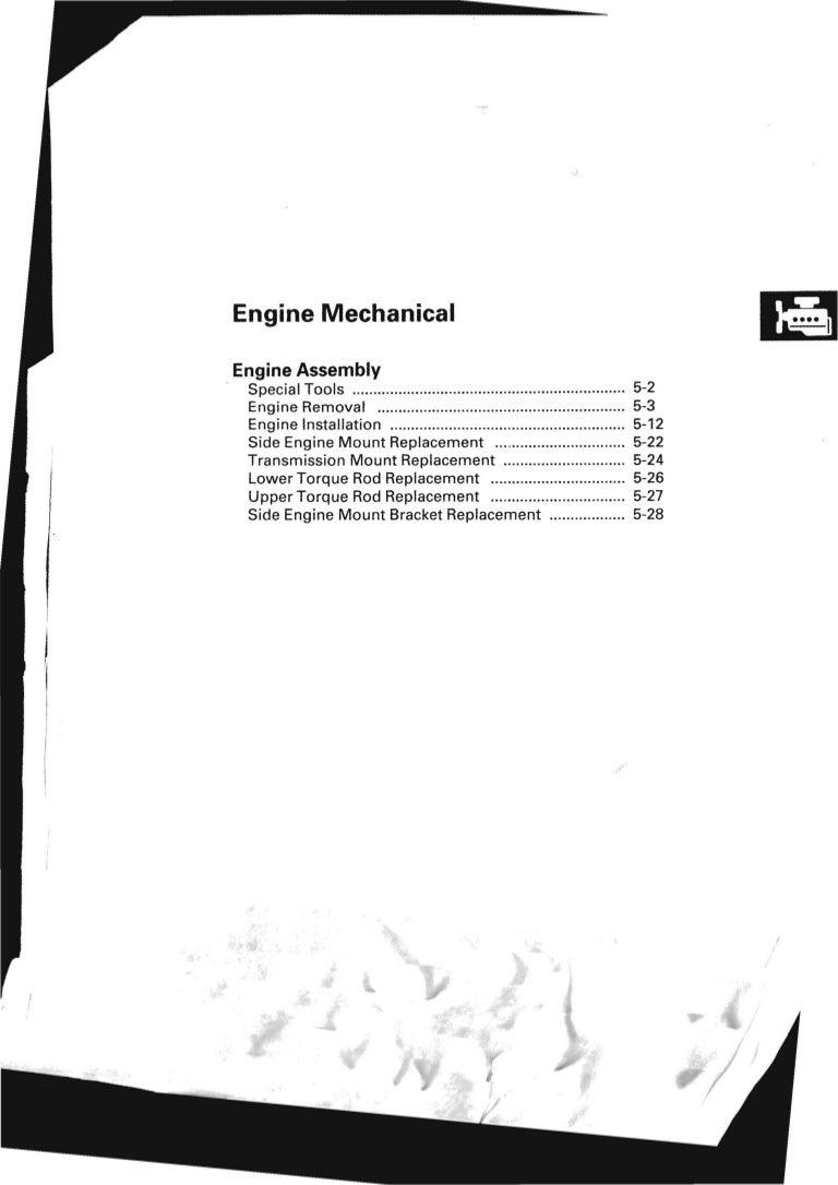 2008 Honda Crv Service Repair Manual