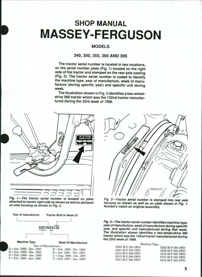Massey Ferguson Mf399 Tractor Service Repair Manual Cav Injection Pump Diagram On Perkins Fuel