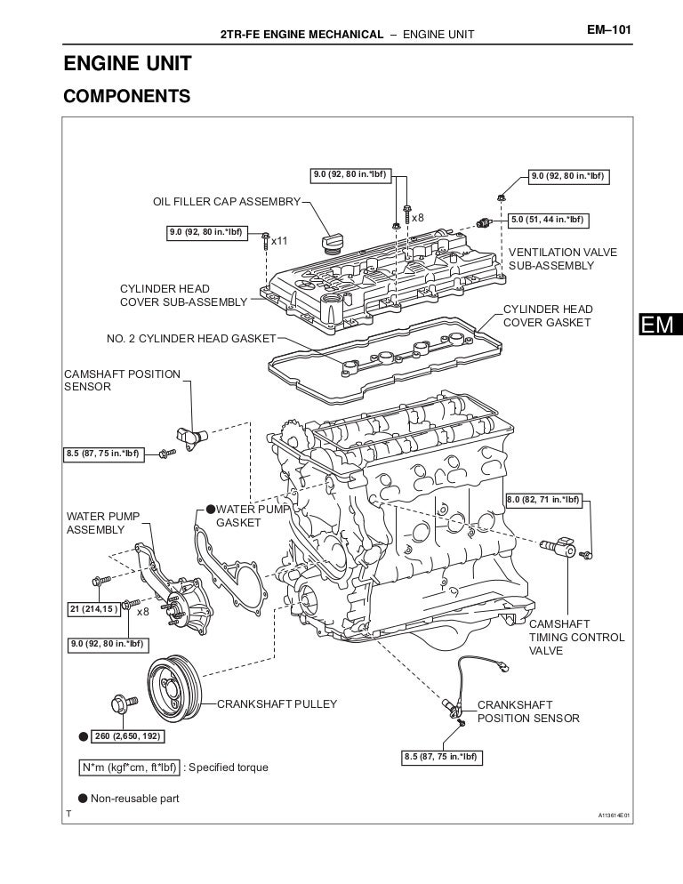 2001 TOYOTA TACOMA Service Repair Manual
