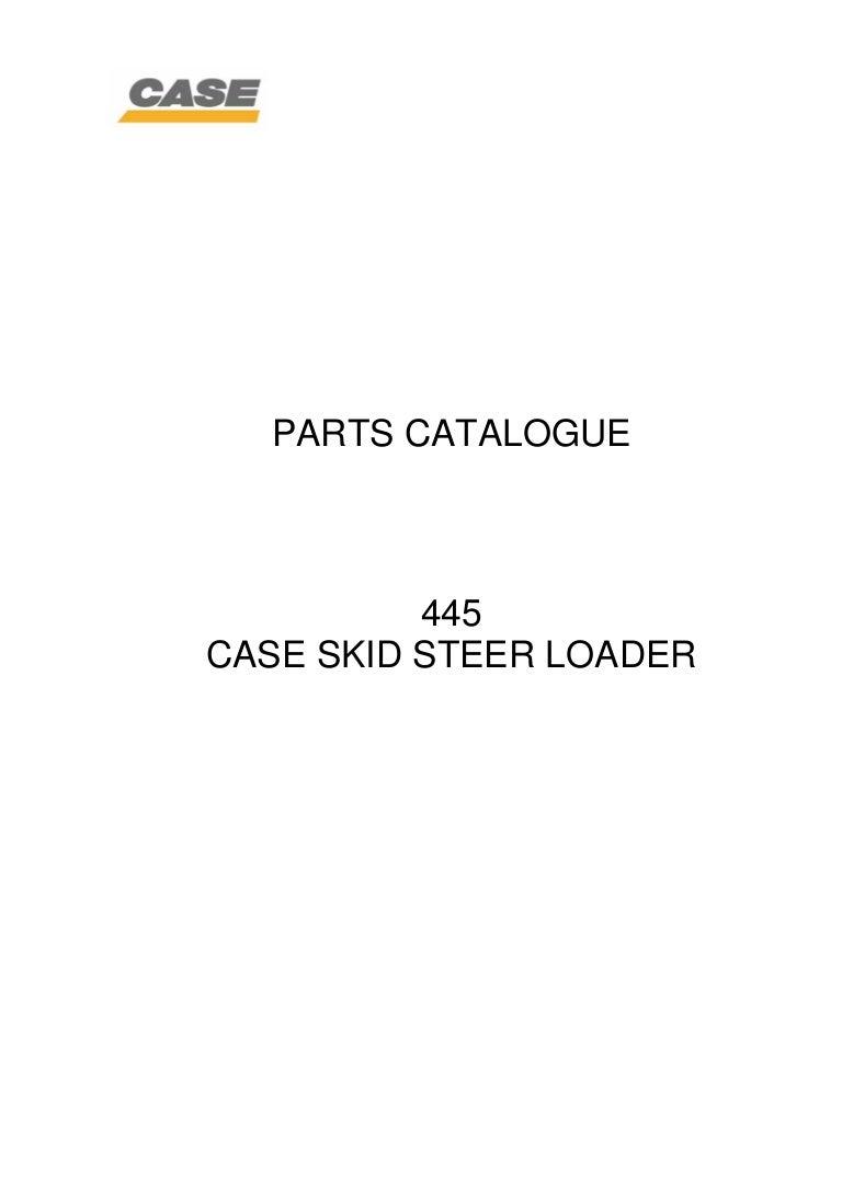 Case 445 Skid Steer Loader Service Repair Manual 24 Volt 8030 Alternator Wiring Diagram