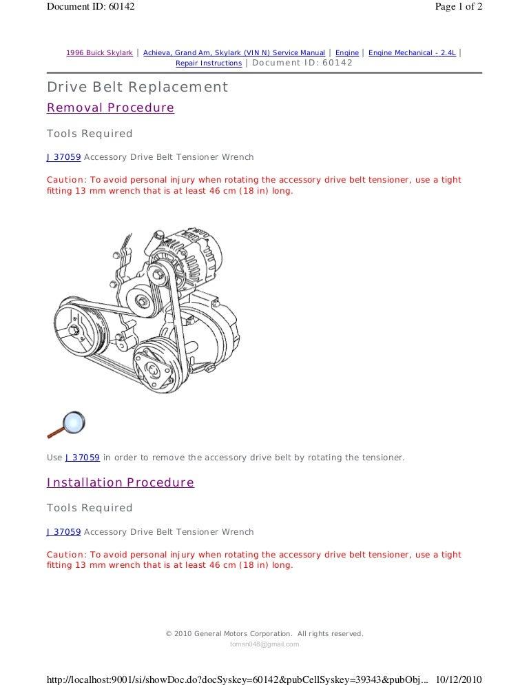 1994 PONTIAC GRAND AM Service Repair Manual | 1994 Pontiac Grand Prix Engine Diagram |  | SlideShare