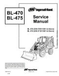 Bobcat 453 Skid Steer Loader Parts Catalogue Manual S/N