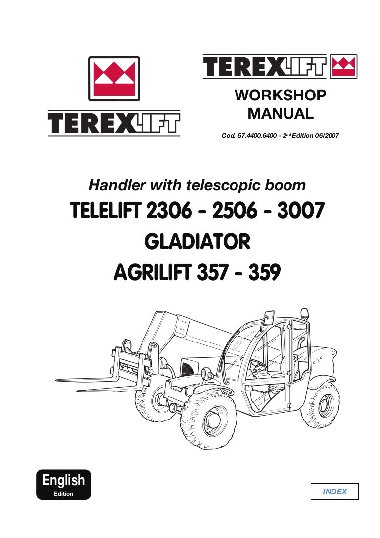 Terex Telelift 2306 Gladiator Agrilift Telescopic Handler Service Rep Yale Forklift Wiring Diagram On Telephone Box View