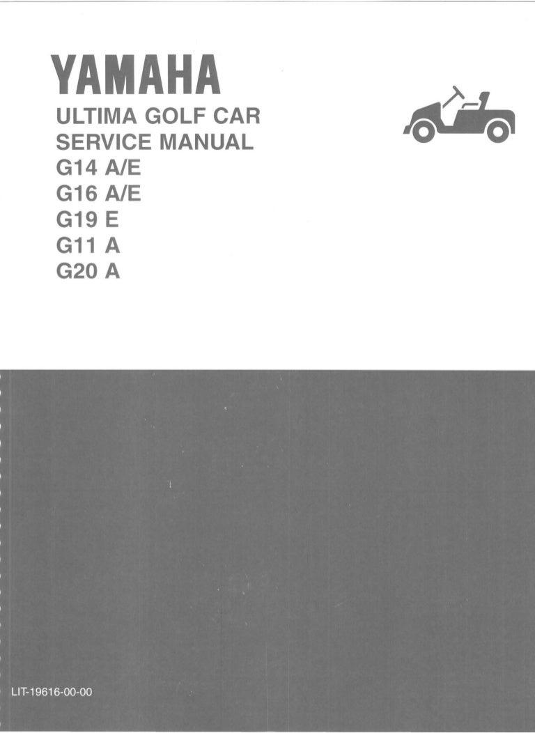 yamaha g16-a golf cart service repair manual  slideshare