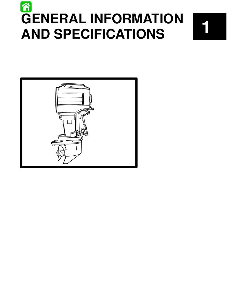 Mercury Mariner Outboard 80 HP Service Repair Manual