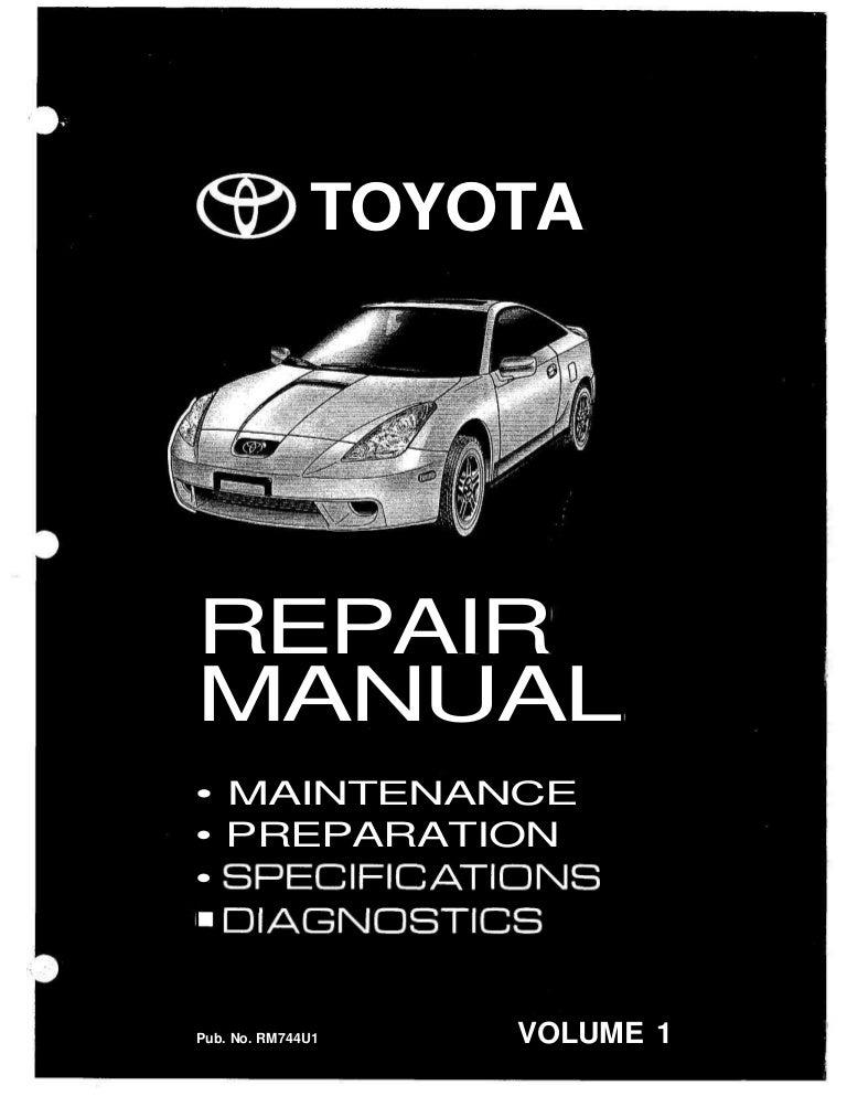 1990 Toyota Celica Service Repair Manual Set