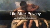 Life after privacy  addicted to convenience in a world filled with big data and little wisdom