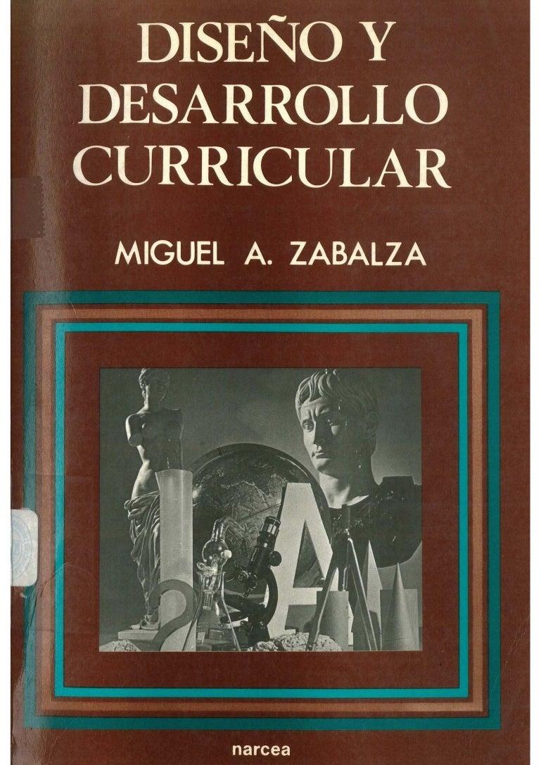 Zabalza, Miguel- Diseño y curriculum