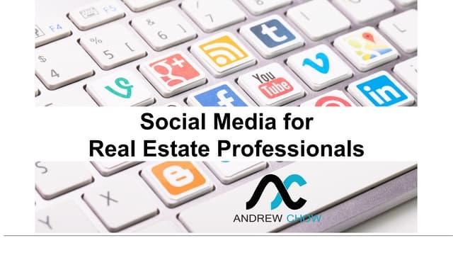Social Media for Real Estate Professional - ZACD