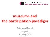 Museums and the participation paradigm