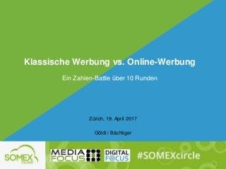 Zahlen Battle: klassische werbung vs.online-werbung-somexcloud