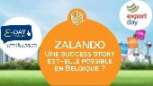 Une Success Story à la Zalando est-elle possible en Belgique ? #e-day #Export Day #IZEO